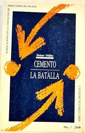 9788487591181: Cemento y la batalla