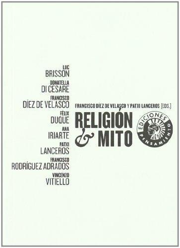 9788487619656: Religion Y Mito (Pensamiento)