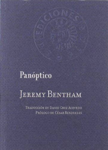 9788487619908: Panoptico (Utopias)