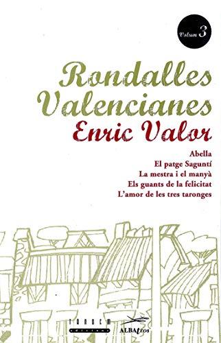 9788487693854: Rondalles Valencianes d'Enric Valor: Rondalles Valencianes. Volum 3