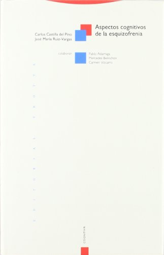 9788487699146: Aspectos Cognitivos de La Esquizofrenia (Spanish Edition)