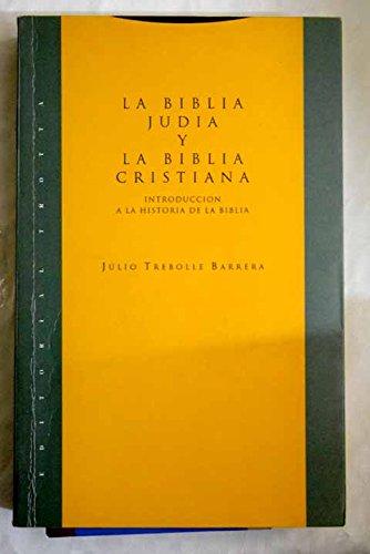 9788487699559: La Biblia judia y la Biblia cristiana (Estructuras y procesos) (Spanish Edition)