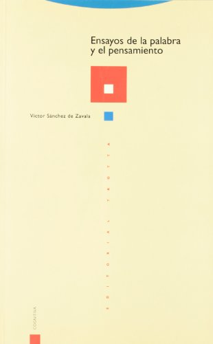 9788487699870: Ensayos de La Palabra y El Pensamiento (Coleccion Estructuras y Procesos) (Spanish Edition)