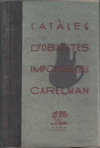 Catàleg d´Objectes Impossibles (9788487711022) by Jacques Carelman