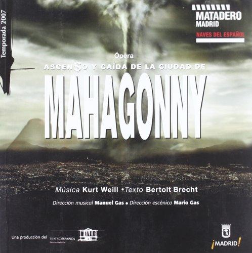 9788487744457: Ascenso y caida de la ciudad de mahagonny (opera)