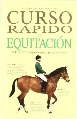 9788487756641: Curso rápido de equitación (Varios)