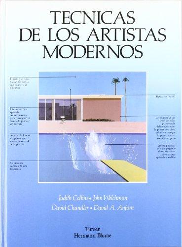 9788487756726: Técnicas de los artistas modernos (Artes, técnicas y métodos)