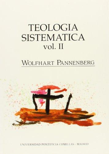 9788487840654: Teología sistemática: Creación, Antropología y Cristología: 3 (Estudios)