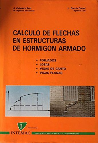 9788487892080: Calculo de flechas en estructuras de hormigon armado