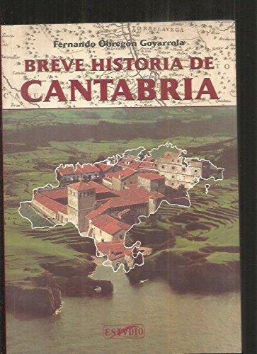 9788487934902: Breve historia de Cantabria