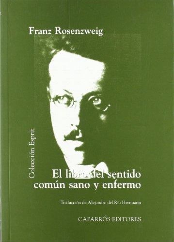9788487943256: El libro del sentido común sano y enfermo (Colección Esprit)