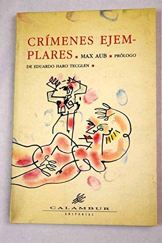 9788488015020: Crímenes ejemplares (Calambur) (Spanish Edition)