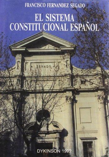 9788488030320: El sistema constitucional español