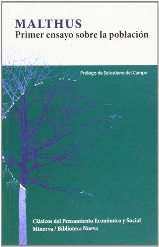 9788488123732: Primer ensayo sobre la poblacion / First Essay on Population (Spanish Edition)