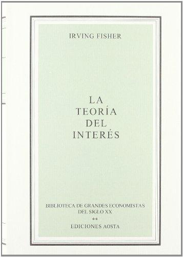 9788488203069: TEORIA DEL INTERES