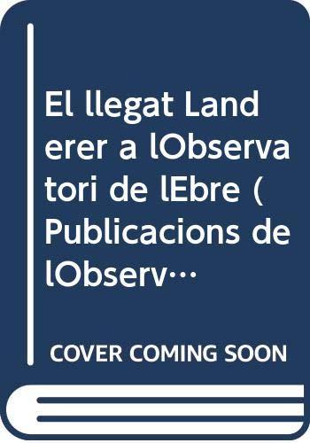 El llegat Landerer a lObservatori de lEbre: Maria Genesca i
