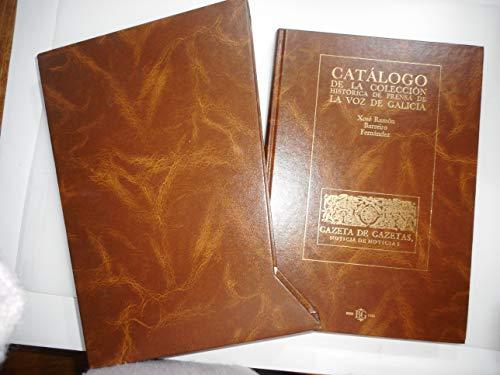 9788488254498: Catalogo de la coleccion historicade prensa de la