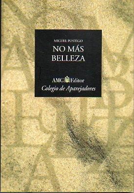9788488261601: No Más Belleza