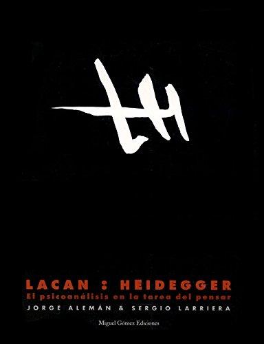 9788488326119: Lacan: Heidegger: el psicoanálisis en la tarea del pensar (Ítaca)