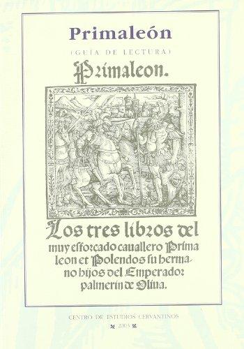 9788488333759: Primaleon: Guía de lectura / Reading Guide (Spanish Edition)