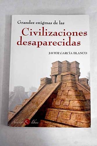 9788488337436: Grandes enigmas de las civilizaciones desaparecidas