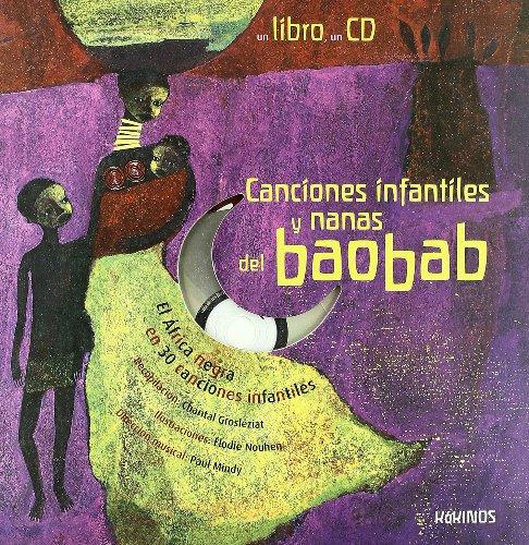 9788488342874: Cancíones ínfantíles y nanas del baobab (Spanish Edition)