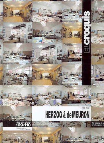 9788488386274: Herzog & DeMeuron, 1998-2002 (El Croquis 109/110) (English and Spanish Edition)