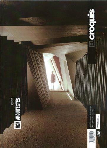 El Croquis 138: RCR Architects (Spanish Edition): RCR Architects