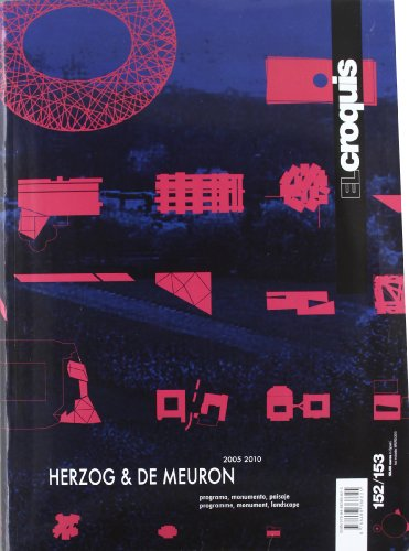 9788488386625: El Croquis 152/153: Herzog & De Meuron (English and Spanish Edition)
