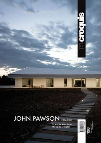 9788488386687: El Croquis 158: John Pawson - The Voice Of Matter (English and Spanish Edition)