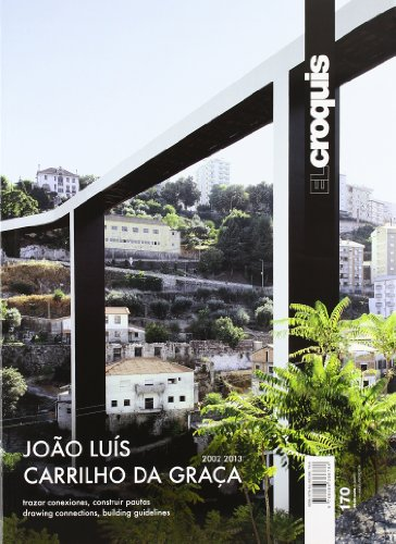 9788488386786: El Croquis 170 - Joao Luis Carrilho Da Graca (English and Spanish Edition)