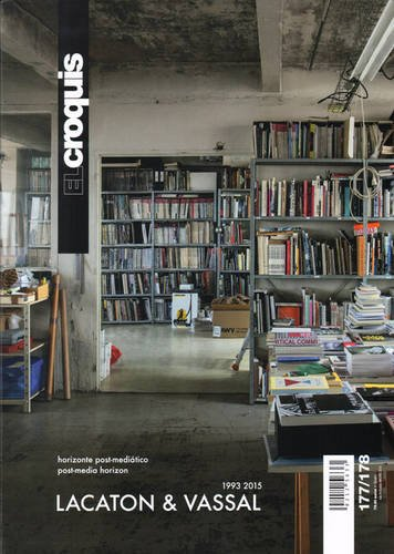 9788488386847: El Croquis 177-178: Lacaton & Vassal 1993-2015 Post Media Horizon (English and Spanish Edition)