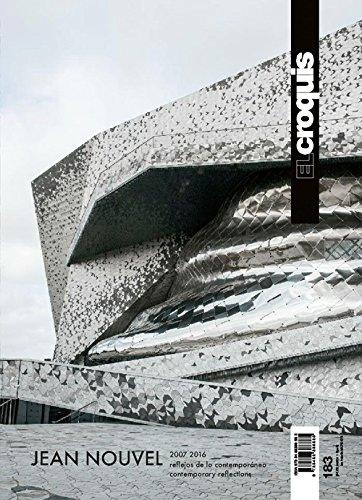 Croquis 183- jean nouvel- 2007-2016: El Croquis, PublicaciÓn De Arquitectura,