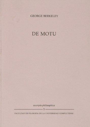 9788488463012: De Motu