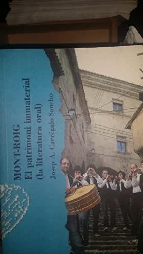 Mont-Roig : el patromoni immaterial (la literatura: Josep A. Carrégalo