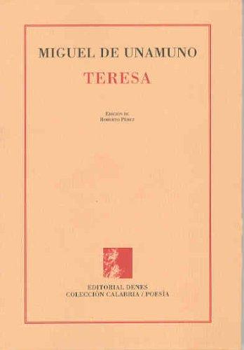 9788488578877: Teresa: rimas de un poeta desconocido (Colección Calabria. Poesía)