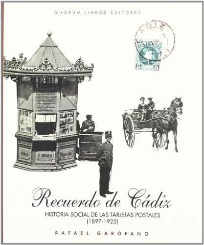 9788488599339: RECUERDO DE CADIZ HISTORIA SOCIAL TARJET