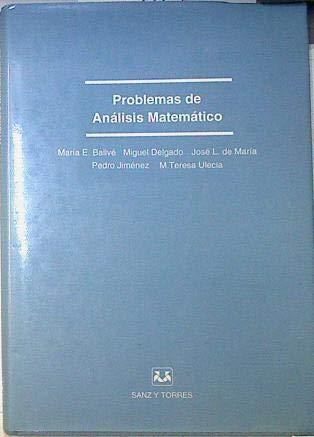 Problemas de análisis matemático: VVAA