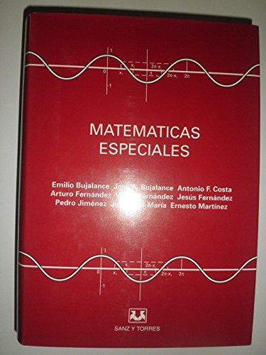 9788488667144: Matemáticas Especiales