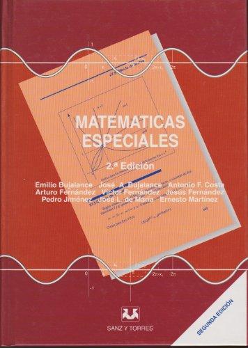 9788488667274: Matematicas especiales (2ª ed.)