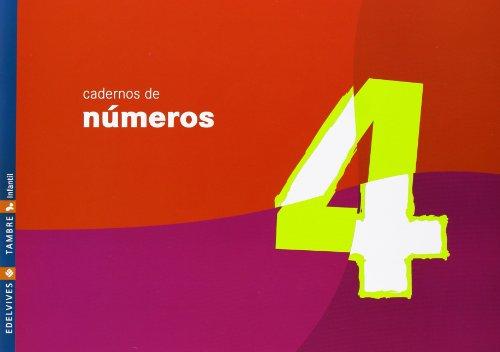 9788488681966: Caderno de Numeros 4 (Infantil)