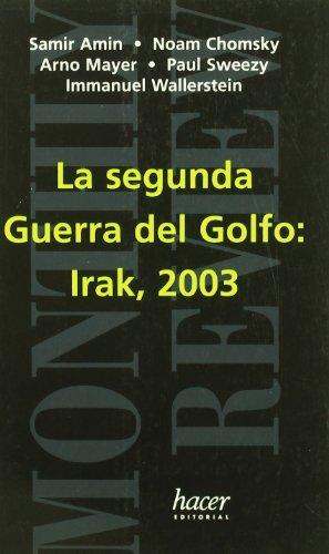 9788488711625: Segunda Guerra del golfo:Irak 2003