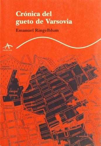 9788488730732: Cronica del gueto de Varsovia (Trayectos (alba))