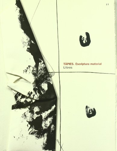 9788488786654: Antoni Tapies: Material Writing (English and Catalan Edition)