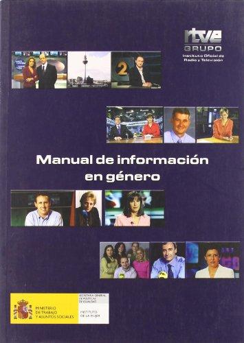 9788488788559: Manual de información en género