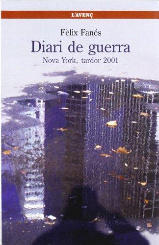 9788488839596: Diari de guerra: Nova York, tardor 2001 (Sèrie Literatures)