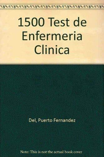 9788488876034: 1500 test de enfermeria clinica