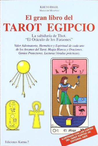 9788488885616: El Gran Libro del Tarot Egipcio - AbeBooks - Kheto
