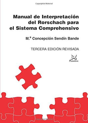 9788488909152: Manual De Interpretación Del Rorschach Para El Sistema Comprehensivo (Spanish Edition)