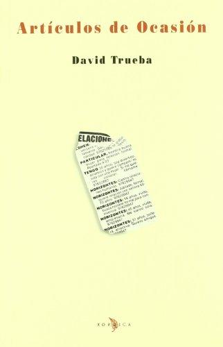 9788488920232: Articulos De Ocasion (Los libros de la falsa)
